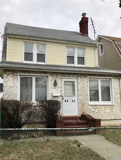 Queens Village Single Family Home For Sale: 89-41 212 St