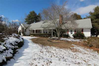 Stony Brook Single Family Home For Sale: 3 Middle Ln
