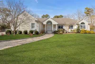 Quogue Single Family Home For Sale: 3 Old Fields Ln