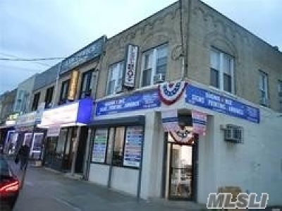 Briarwood Commercial For Sale: 83-28 Parsons Blvd