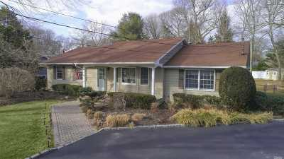 Moriches Single Family Home For Sale: 5 Cohrs Ct