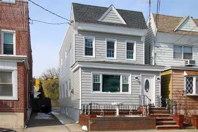 Ozone Park Single Family Home For Sale: 101-56 103 St