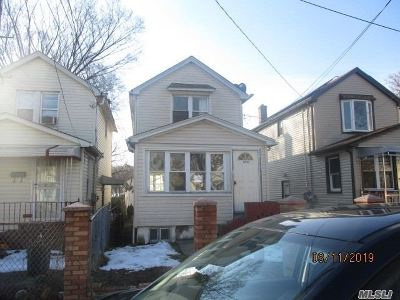 Queens County Single Family Home For Sale: 164-52 Nadal Pl
