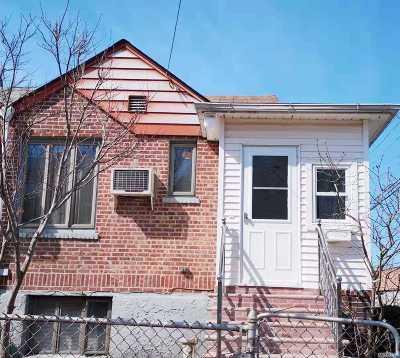 Elmhurst Single Family Home For Sale: 84-43 57 Rd
