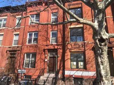 Brooklyn Multi Family Home For Sale: 211 Lewis Ave