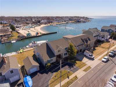 Massapequa Single Family Home For Sale: 33 Beach Rd