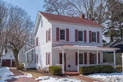 Port Jefferson Single Family Home For Sale: 108 High St