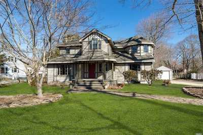 Smithtown Single Family Home For Sale: 118 Brook Ln