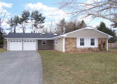 Stony Brook Single Family Home For Sale: 344 Oxhead Rd