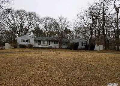 Centereach Single Family Home For Sale: 89 Blydenburg Rd