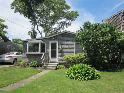 Patchogue Multi Family Home For Sale: 56 Lakeshore Dr