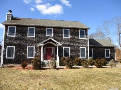 Westhampton Single Family Home For Sale: 398 Mill Rd