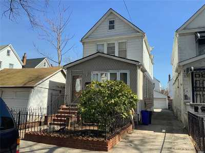Jamaica Single Family Home For Sale: 116-11 170th St