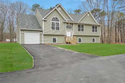 Farmingville Single Family Home For Sale: Lot 2 Blue Point Rd