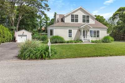 Sag Harbor Single Family Home For Sale: 37 Bay View Dr