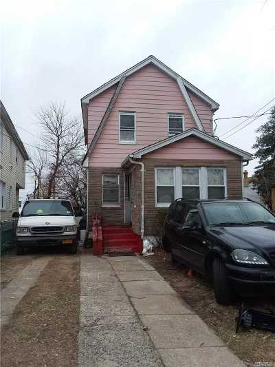 Queens County Single Family Home For Sale: 122-12 Milburn St