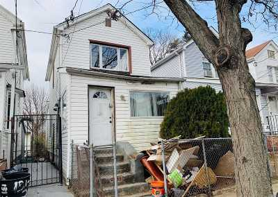 Queens County Single Family Home For Sale: 131-18 135th Pl
