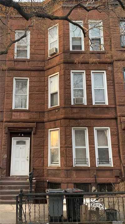 Brooklyn Multi Family Home For Sale: 561 Chauncey St