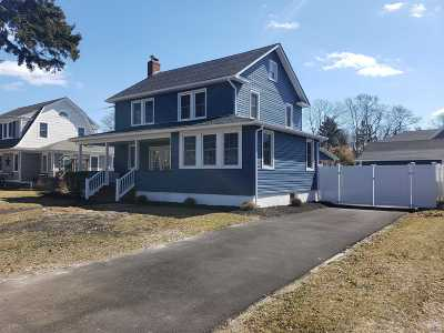 Sayville Single Family Home For Sale: 104 Elm St