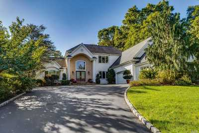 Dix Hills Single Family Home For Sale: 24 Hunting Hollow Ct