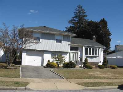 Massapequa Single Family Home For Sale: 63 W Ford Dr