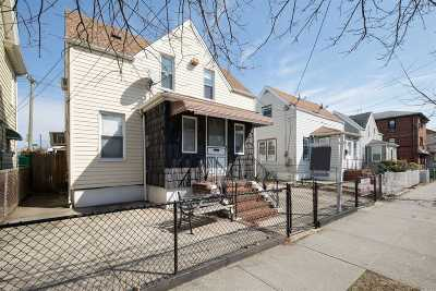 Ozone Park Single Family Home For Sale: 107-33 93rd St