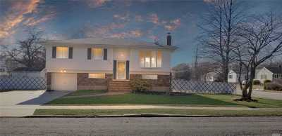 Copiague Single Family Home For Sale: 515 Hawkins Blvd