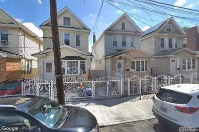 Ozone Park Multi Family Home For Sale: 103-17 107