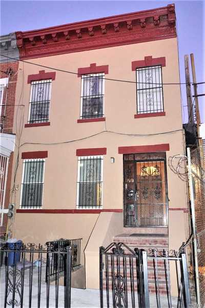 Brooklyn Multi Family Home For Sale: 59 Crescent St