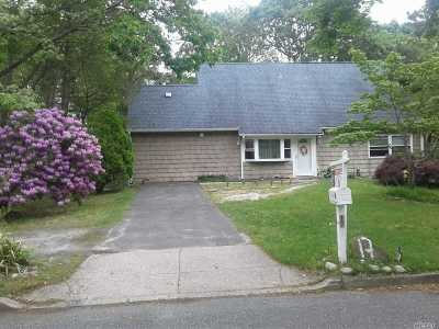 Coram Single Family Home For Sale: 17 Harford Dr