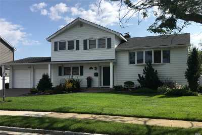 Massapequa Single Family Home For Sale: 52 Tidewater Ave