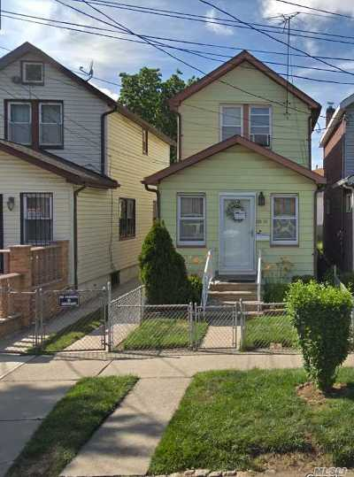 Queens County Single Family Home For Sale: 126-13 116th Ave
