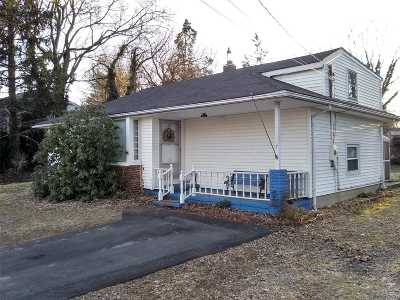 Centereach Single Family Home For Sale: 7 Smith Ln
