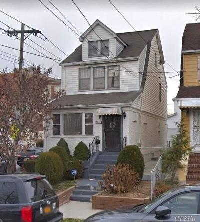 Flushing Single Family Home For Sale: 59-01 Parsons Blvd