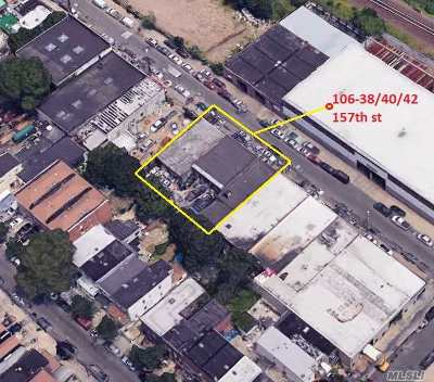 Queens County Commercial For Sale: 106-38 157th St