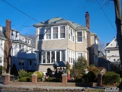 Flushing Multi Family Home For Sale: 32-27 150th Pl