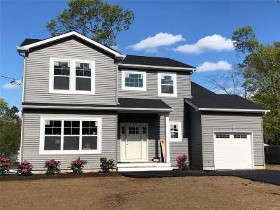 Mastic Beach Single Family Home For Sale: Nc 62 Mill Dr