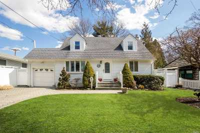 Massapequa Park Single Family Home For Sale: 143 Roosevelt