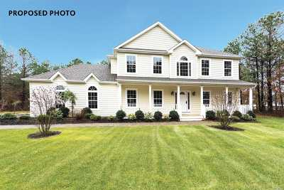 Hampton Bays Single Family Home For Sale: Tbb Old Riverhead Rd
