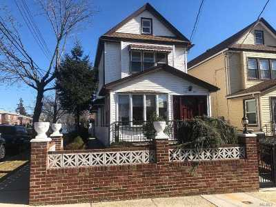 Flushing Single Family Home For Sale: 20-27 147th St