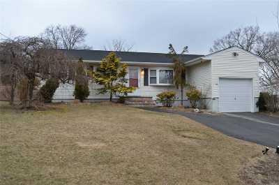 Selden Single Family Home For Sale: 80 Rose Pl