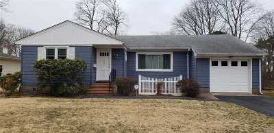Patchogue Single Family Home For Sale: 144 Avery Ave