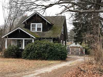 Brookhaven Single Family Home For Sale: 14 Old Stump Rd