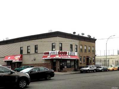 Queens County Commercial For Sale: 52-20 Flushing Ave