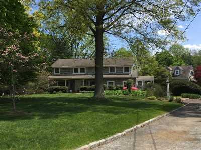 Lloyd Harbor Single Family Home For Sale: 10 W Gate Rd