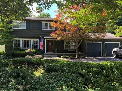 Setauket Single Family Home For Sale: 8 Three Village Ln