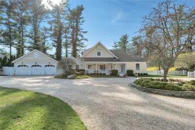 Brookville Single Family Home For Sale: 68 Wheatley-Private Rd