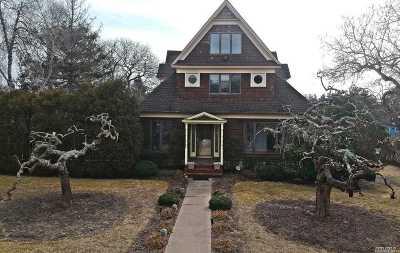 Hampton Bays Single Family Home For Sale: 30 Shinnecock