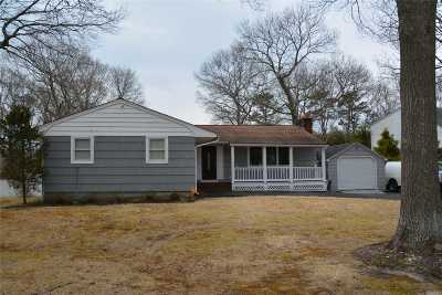 Suffolk County Single Family Home For Sale: 54 Cypress Ln