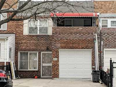 Flushing Single Family Home For Sale: 25-12 College Point Blvd